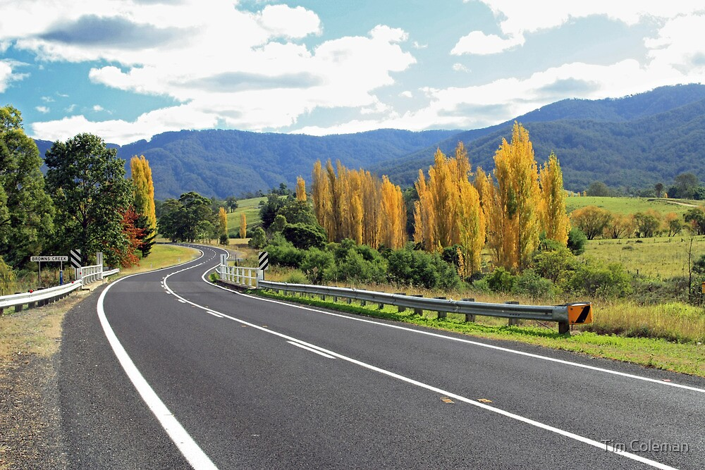 Autumn in the Bega Valley by Tim Coleman