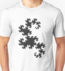 Dragons curve fractal T-Shirt