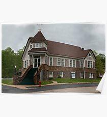 Old Methodist Church ~ Ironton Missouri Poster