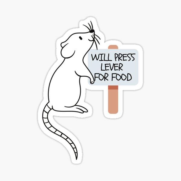 Lab rat Sticker