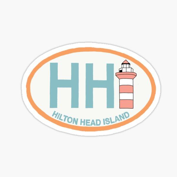 Aesthetic Hilton Head Island Sticker Sticker