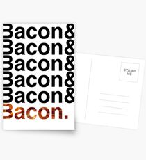 Bacon& Postcards