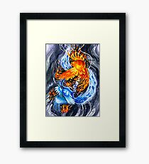 Kindle Framed Print