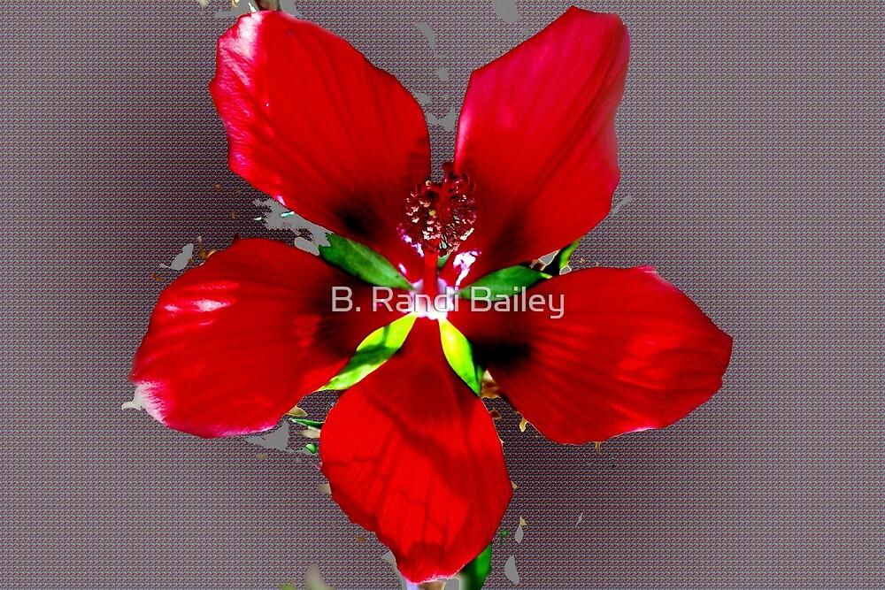 Swamp hibiscus by ♥⊱ B. Randi Bailey