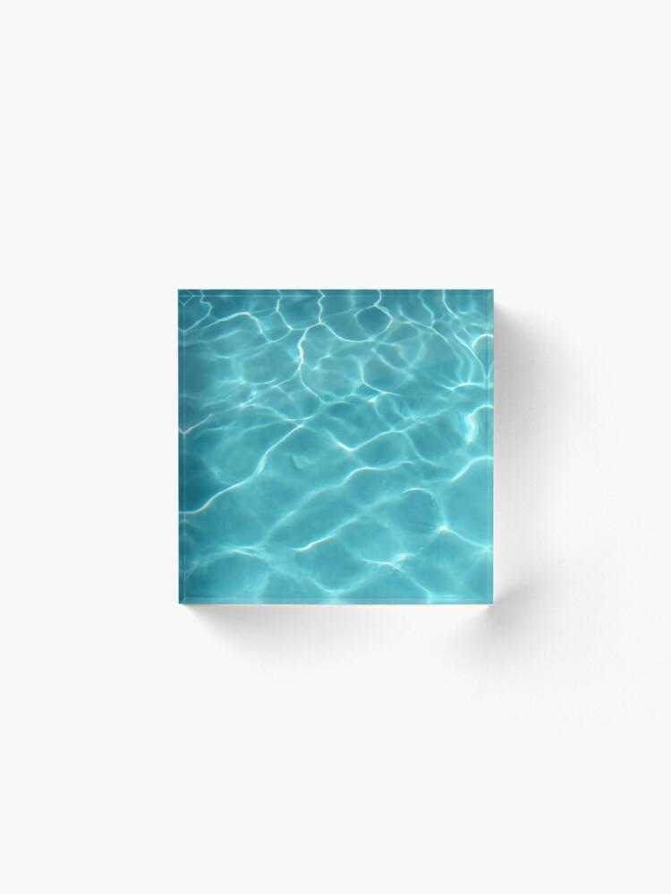 Alternate view of Yoga Pants Olympic Swimming Pool Underwater Acrylic Block