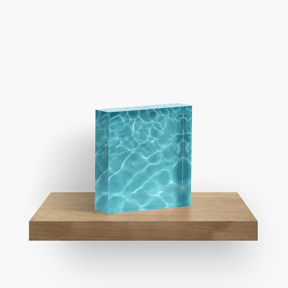 Yoga Pants Olympic Swimming Pool Underwater Acrylic Block