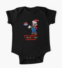 Super Mario Christmas Kids Clothes