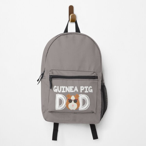 Guinea Pig Dad Daddy Father Gift Idea Backpack