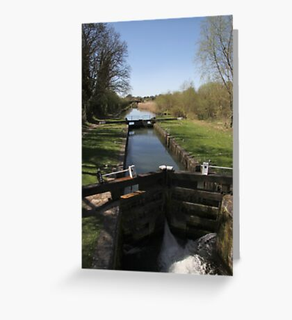 Lock By The Bridge - Bedwin Greeting Card