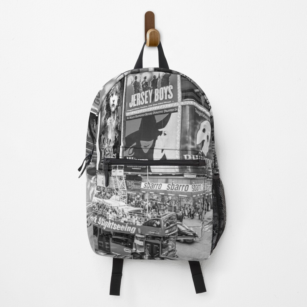 Times Square II Special Edition II (B&W) Backpack