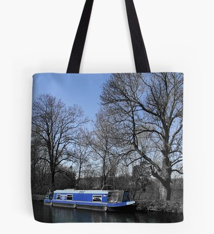 Blue And Bigger On The Inside? Tote Bag