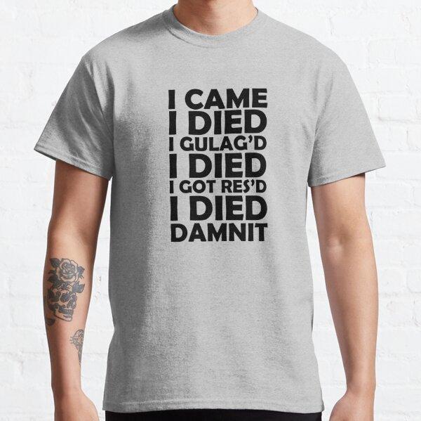 Je suce à Warzone T-shirt classique