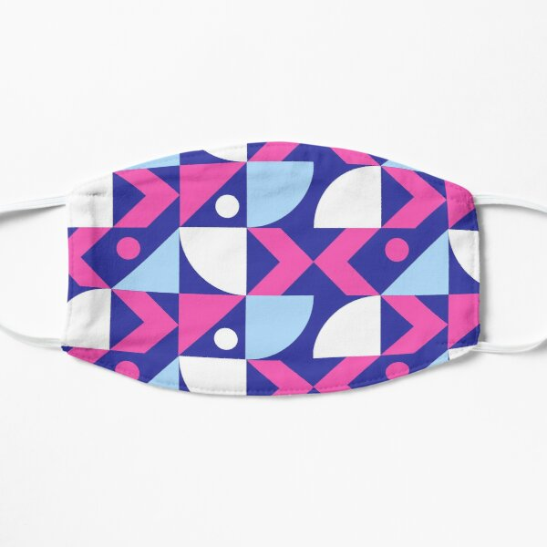 Abstract Colored Design Mask