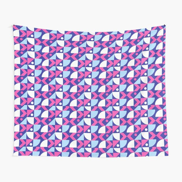 Abstract Colored Design Tapestry