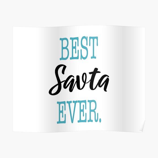 Best Savta Ever Poster