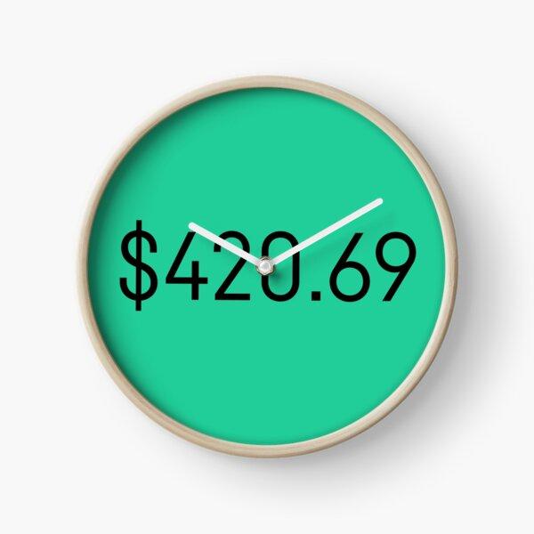 $420.69 Clock