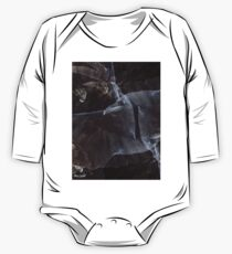 Designs Inspired By Nature: Black Raven One Piece - Long Sleeve
