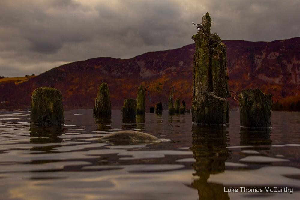 Destroyed Pier   by Luke Thomas McCarthy