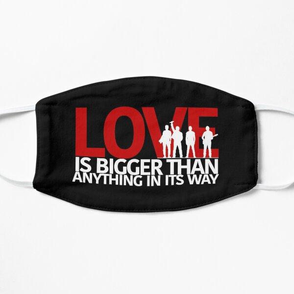 El amor de U2 es más grande que cualquier cosa en su camino Mascarilla plana