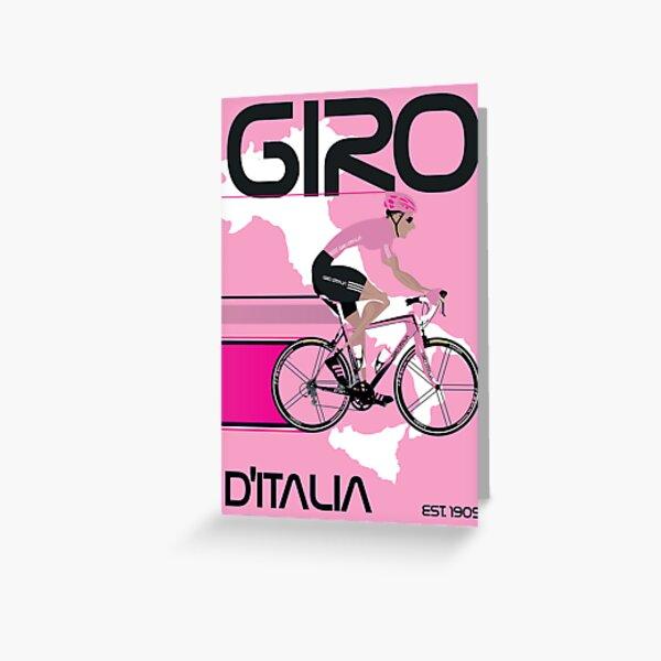 GIRO D'ITALIA Greeting Card