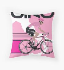 GIRO D'ITALIA Throw Pillow