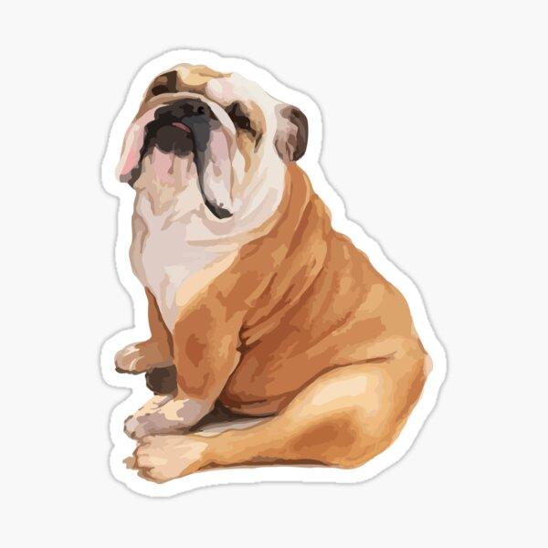 English Bulldog Stickers Sticker