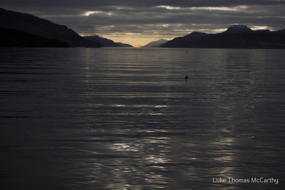 Loch Ness Sunset  by Luke Thomas McCarthy