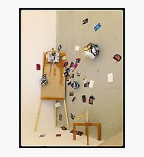 Easel shapes Photographic Print