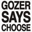 Gozer Says Choose (Basic Version) by PootanInamo
