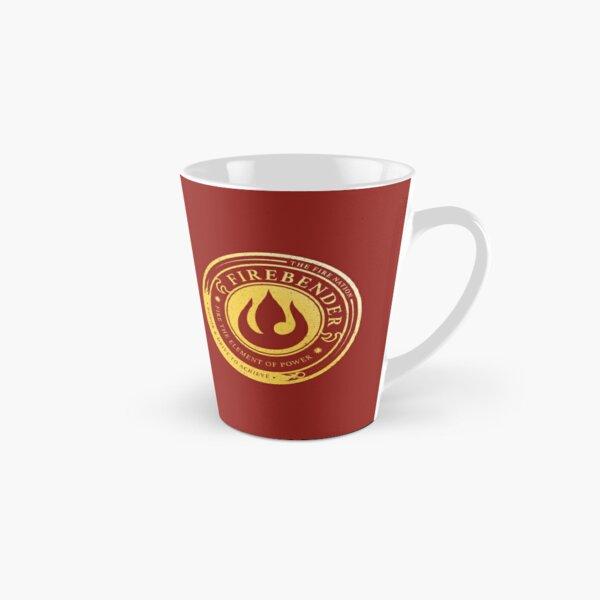 Firebender Symbol: Avatar-Inspired Design v2 Tall Mug