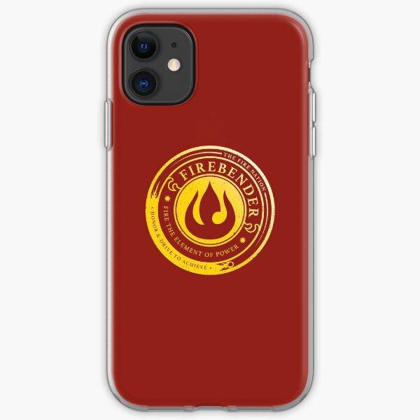 Firebender Symbol: Avatar-Inspired Design v2 iPhone Soft Case