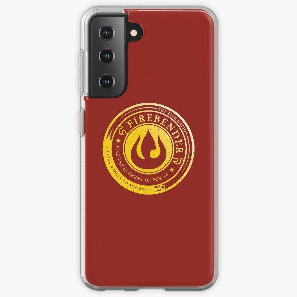 ATLA Firebender Symbol: Avatar-Inspired Design Samsung Galaxy Soft Case