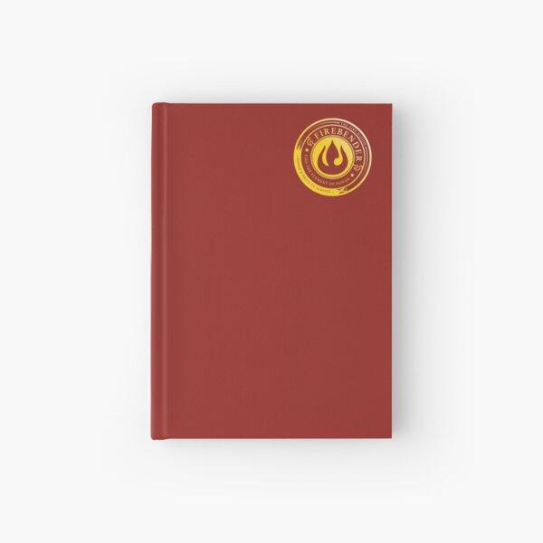 Firebender Symbol: Avatar-Inspired Design v2 Hardcover Journal