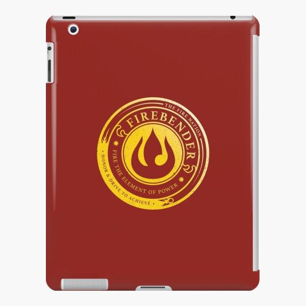 Firebender Symbol: Avatar-Inspired Design v2 iPad Snap Case