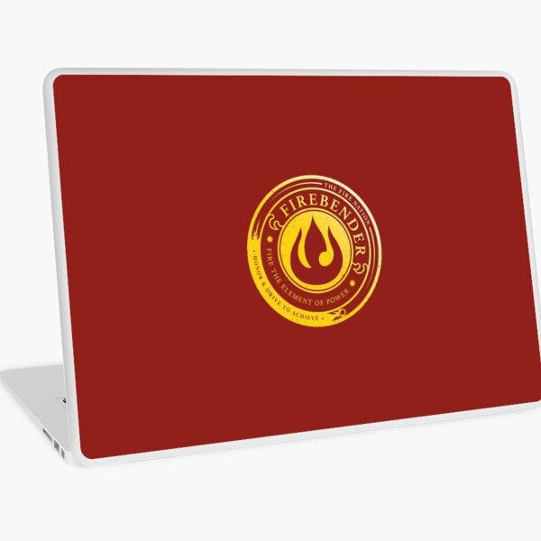 ATLA Firebender Symbol: Avatar-Inspired Design Laptop Skin