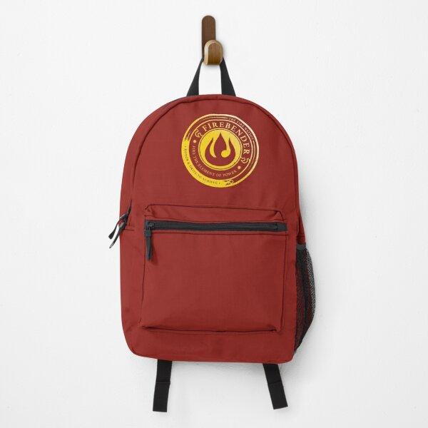 ATLA Firebender Symbol: Avatar-Inspired Design Backpack