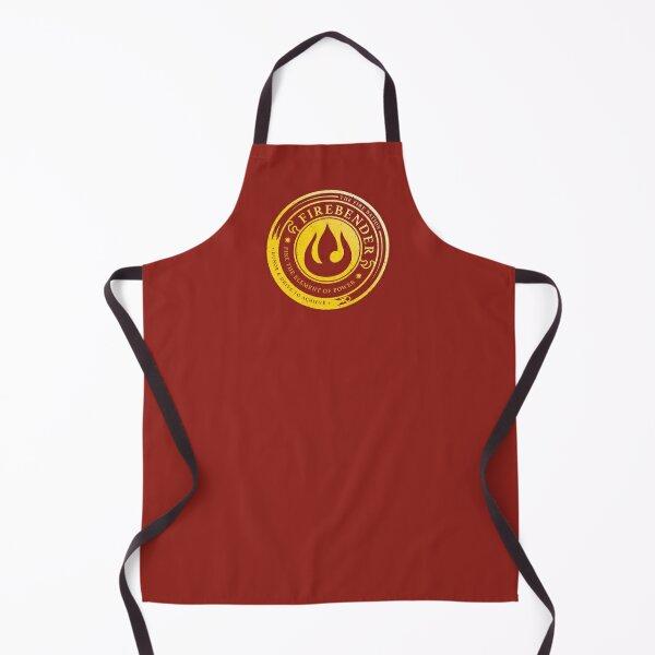 Firebender Symbol: Avatar-Inspired Design v2 Apron