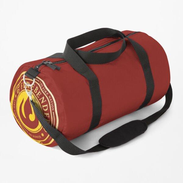 Firebender Symbol: Avatar-Inspired Design v2 Duffle Bag