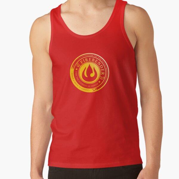 ATLA Firebender Symbol: Avatar-Inspired Design Tank Top