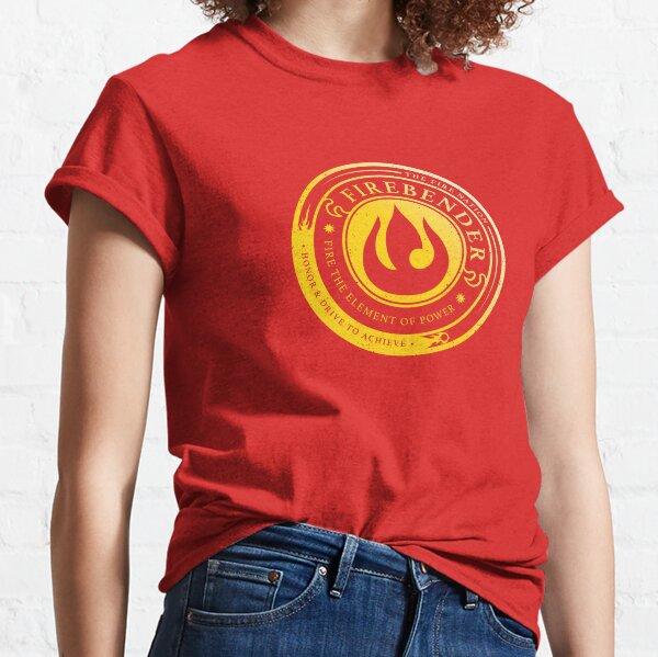 Firebender Symbol: Avatar-Inspired Design v2 Classic T-Shirt