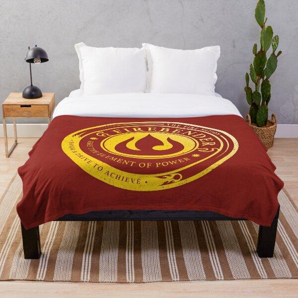 ATLA Firebender Symbol: Avatar-Inspired Design Throw Blanket