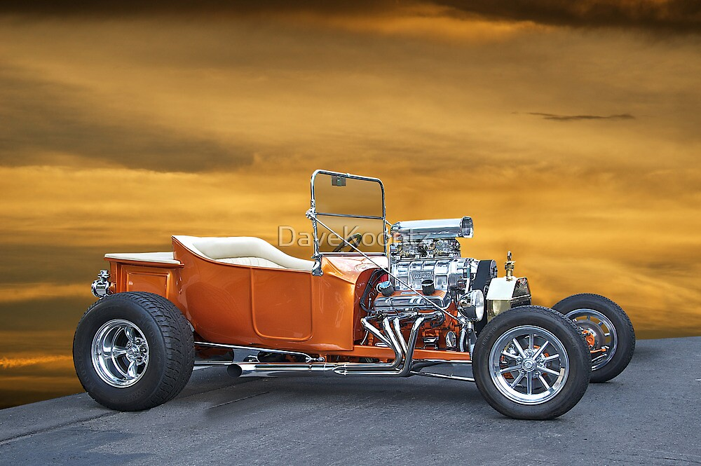 1923 Ford Model T Roadster Pick-Up by DaveKoontz