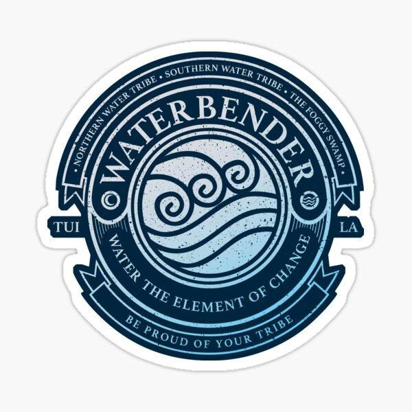ATLA Waterbender Symbol: Avatar The Last Airbender Inspired-Design Sticker