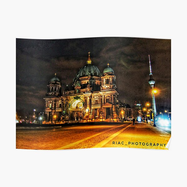 Berlin Cathedral / Berliner Dom Poster