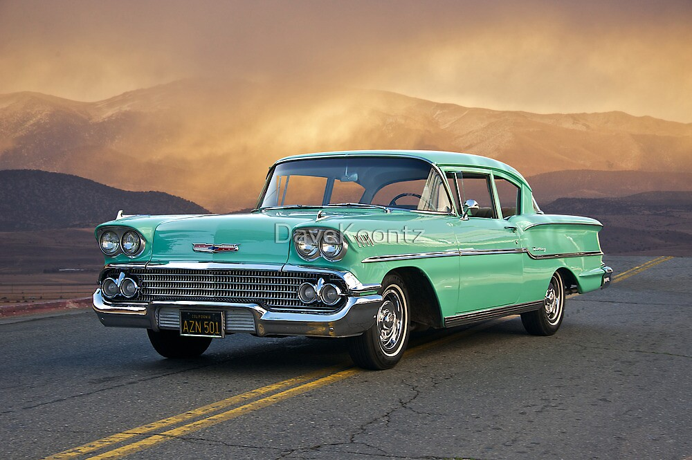 1958 Chevrolet Delray by DaveKoontz