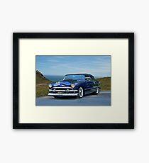 1951 Ford Custom Convertible Framed Print
