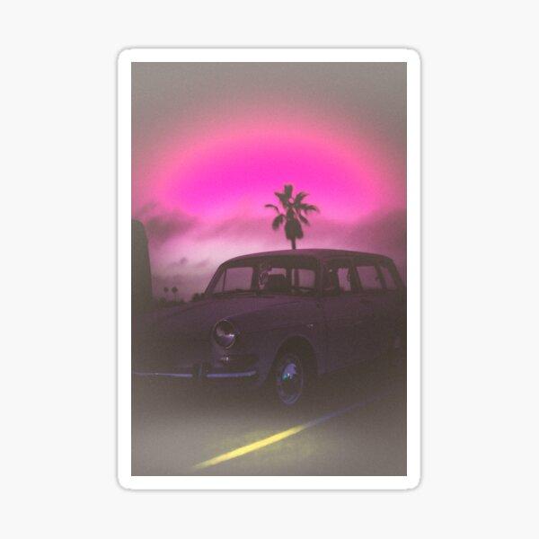 Beach Runner 2054 - NEON Sticker