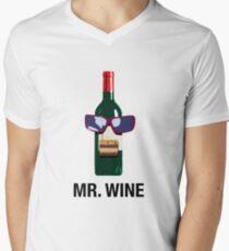 Mister Wine Men's V-Neck T-Shirt