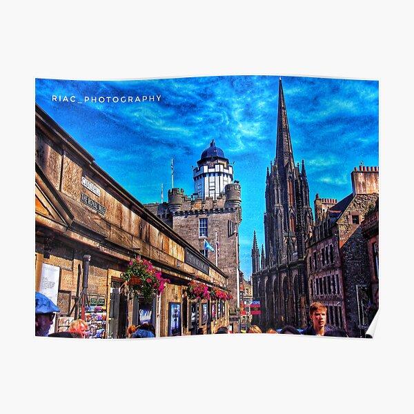 Royal Mile Edinburgh Poster