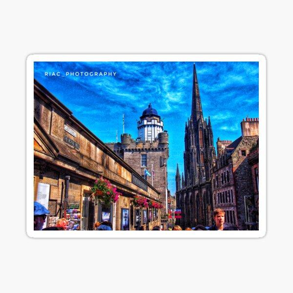 Royal Mile Edinburgh Sticker
